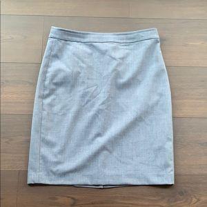 Chambray color Banana Republic Skirt